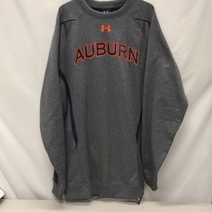 AUBURN GREY SWEATSHIRT, UNDER ARMOUR